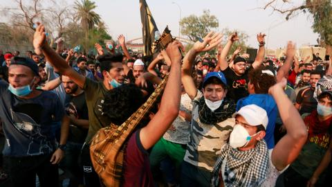 Three protesters dead in clashes with security in Iraq's Basra