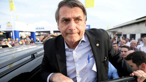 Brazil's presidential hopeful Bolsonaro stabbed during campaign event