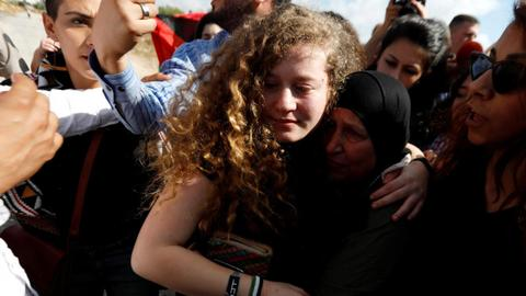 Israel stops Palestinian activist Ahed Tamimi from travelling abroad