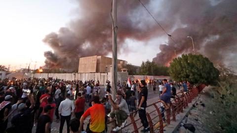 Iraq parliament to convene for emergency session to discuss Basra protests