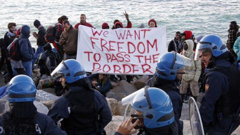 Italy, a sorry destination for migrants