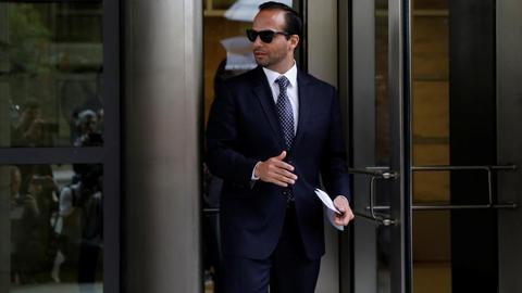 Trump campaign adviser sentenced to 14 days in prison for lying to FBI