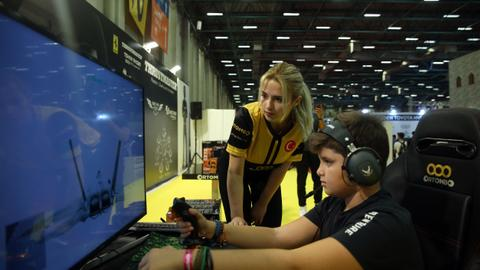 Istanbul's youth get their game on at GameX convention