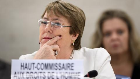 New UN human rights chief airs concerns in first speech