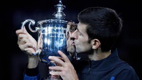 Djokovic headed for bright finish with US Open win