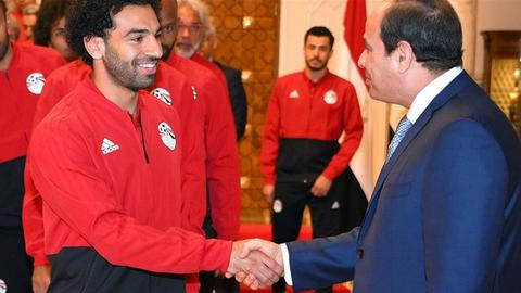 Sisi is the Sun King and in Egypt Mo Salah cannot shine brighter