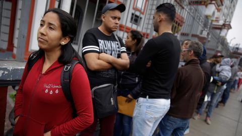 US sees huge increase in Venezuelans seeking  asylum