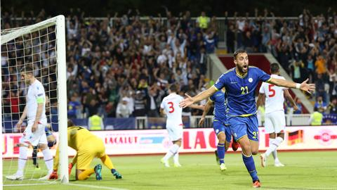 Kosovo beat Faroes to claim first-ever competitive win