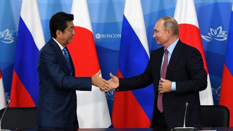 Putin calls for Russia-Japan treaty this year to end WWII hostilities
