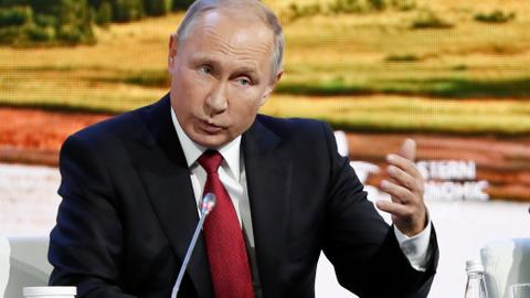 Putin says Russia have identified men accused by UK over poisoning