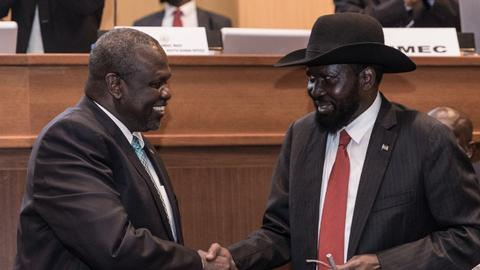South Sudan government and rebels sign another peace deal