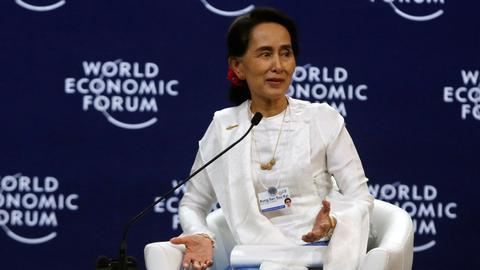 Aung San Suu Kyi says Rohingya crisis