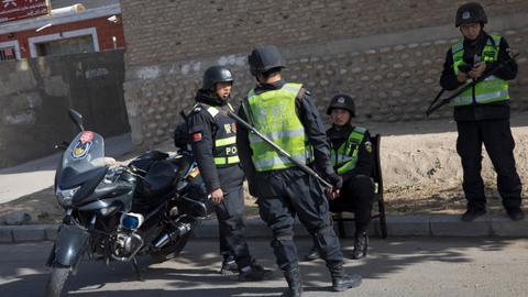At least 11 killed in China after suspect ploughs SUV into crowd