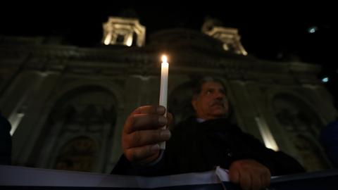 Chilean police raid more offices in Church sex abuse investigation