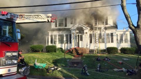 Multiple gas explosions rock Boston suburbs