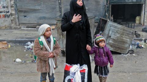 UN calls Aleppo's plight a