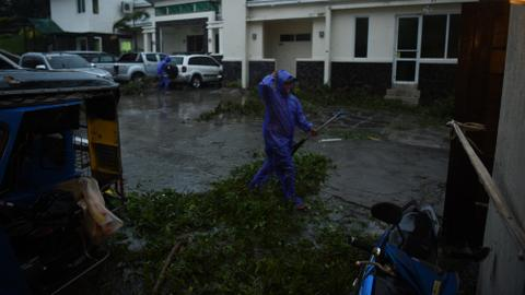 At least 12 dead as typhoon Mangkhut batters Philippines