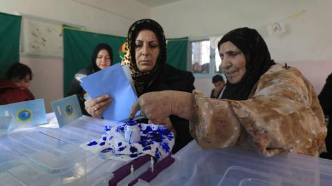 Polls open for local elections in Syria