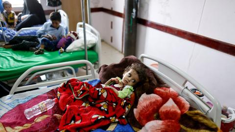 Health centres in Yemen are reporting a spike in cholera cases