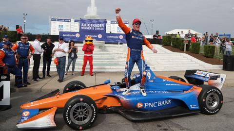 New Zealand's Scott Dixon wins fifth IndyCar championship