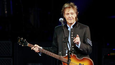 Paul McCartney's new album tops US Billboard after nearly four decades