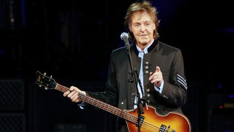 Paul McCartney to headline 50th Glastonbury Festival