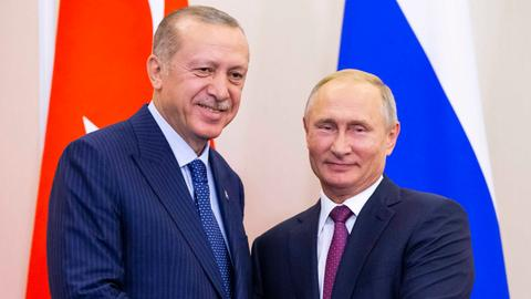 Erdogan, Putin agree on demilitarised zone in Syria's Idlib