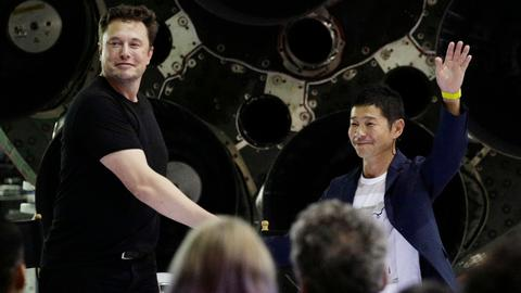 SpaceX names Japanese billionaire as first private tourist to Moon
