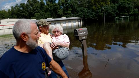 In pictures: Florence wreaks havoc in Carolinas