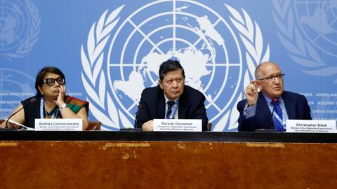 UN reiterates call for Myanmar generals to face genocide charges