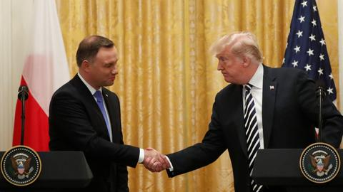 Trump studying possibility of a permanent US base in Poland