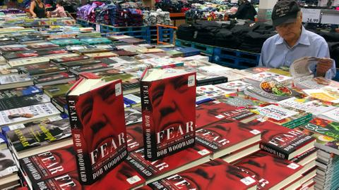 Woodward's Trump book sells 1.1 million in first week