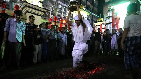 Shia Muslims mark Ashura with mourning processions and self-flagellation