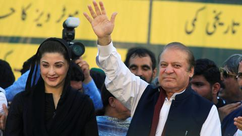 Pakistan court orders release of ex-PM Sharif and his daughter from prison