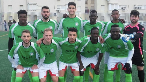Refugees and migrants in Spain find their 'soul' in football