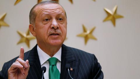 Erdogan says Turkey-US relations will strengthen with trade