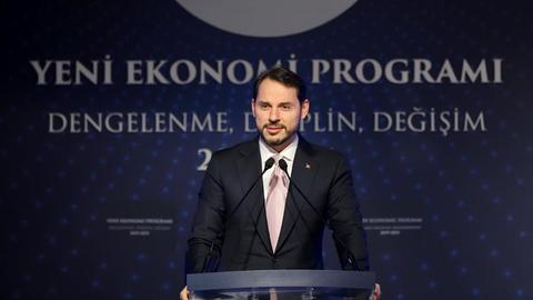 Turkey unveils 2019-2021 economic programme
