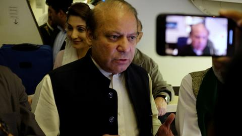 Pakistan's Nawaz Sharif is out of jail. But how did he end up there?