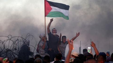 At least one Palestinian killed during Gaza protests