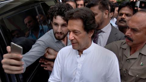India 'arrogant' for cancelling rare meeting: Imran Khan