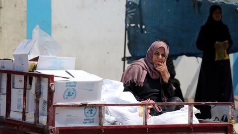 Palestinian refugees suffer from UNRWA funding cuts