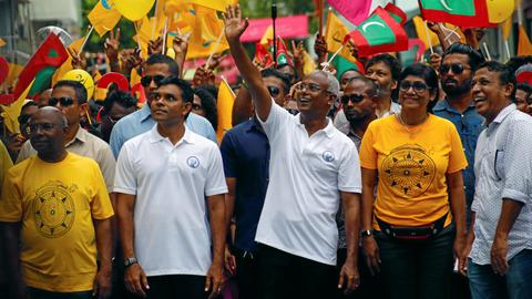 Maldives president concedes defeat in presidential election