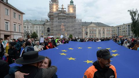 EU sues Poland in top court over judicial reform