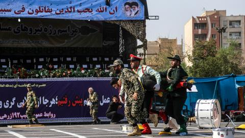 Who is the group behind the terror attack in Iran?