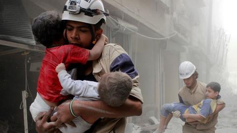 US blames Assad regime for Aleppo carnage