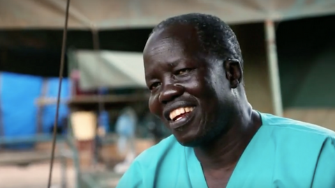 S Sudan surgeon wins UN award for 20 years spent on treating refugees