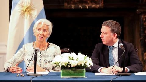 Argentina and IMF reach deal to boost financing to $57 billion