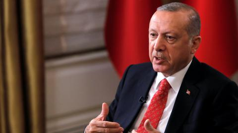 Erdogan says Turkey, US to overcome 'turbulent period'