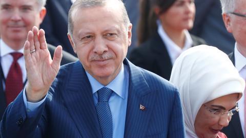 President Erdogan arrives in Germany for state visit