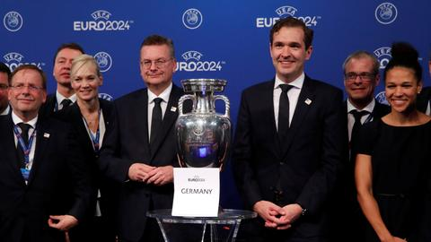 Germany awarded the right to host Euro 2024